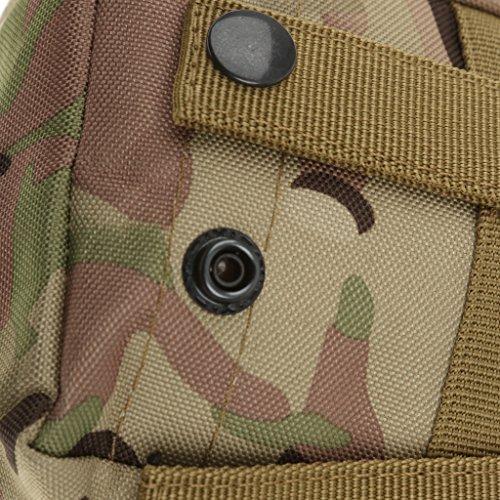 Sharplace Mini Pochette Militaire Utilitaire Sac Tactique Accessoire de Sport Imperméable - CP Camouflage, Taille Unique