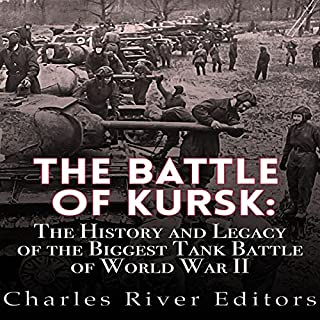 The Battle of Kursk audiobook cover art