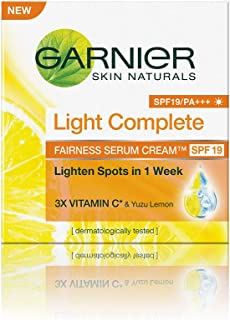 Garnier Skin Naturals Light Complete Serum Cream SPF 19, 45g