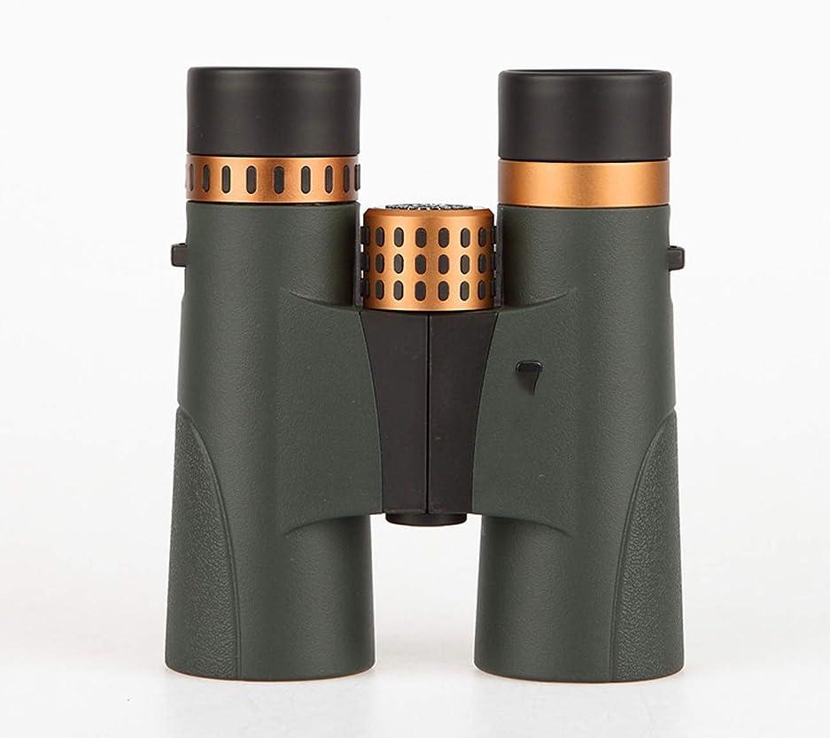 宮殿小学生遵守する10x42双眼鏡高倍率コンパクト携帯電話子供のための望遠鏡を撮影する大人の防水ミストバードウォッチング屋外スポーツHD光学望遠鏡BAK4プリズムFMCレンズネックストラップ付き