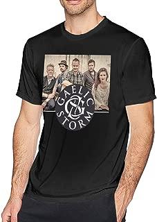 Gaelic Storm Mens Short Sleeve T-Shirt Casual Tops Tee Classic Fit Basic Shirts
