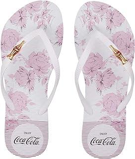 Chinelo Coca-Cola Dawn Flowers feminino