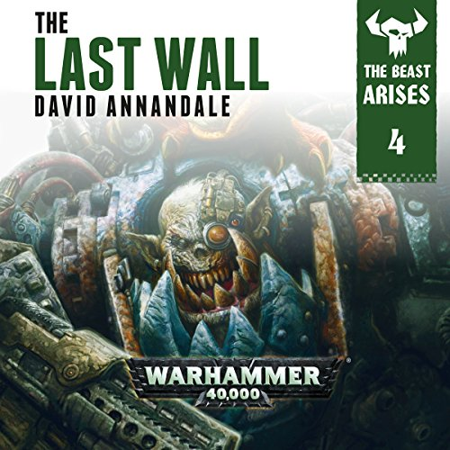 The Last Wall: Warhammer 40,000 audiobook cover art