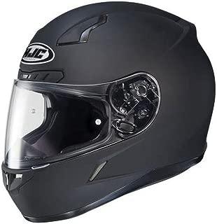 HJC Solid Mens CL-17 Full Face Motorcycle Helmet - Matte Black/X-Large