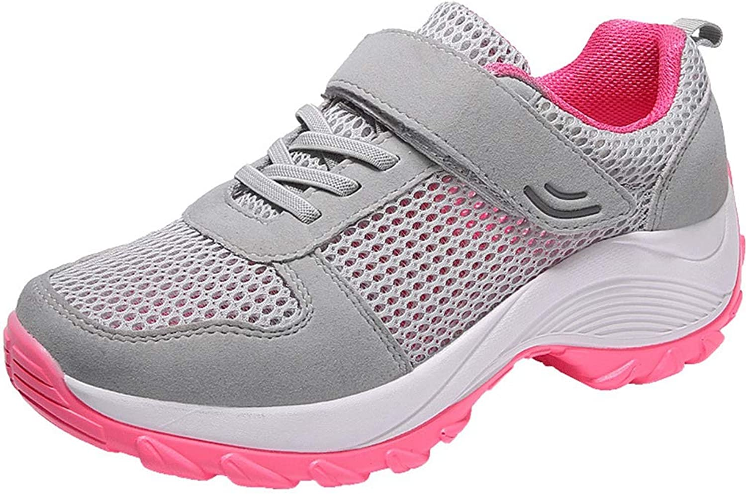 GIY Women's Sports Sneakers Non Slip Lightweight Casual Athletic shoes Mesh Air Running Walking shoes