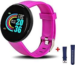 UIEMMY slim horloge Smart Horloge Mannen Vrouwen Bloeddruk Ronde Hartslag Fitness Armband Tracker Sport Waterdichte Smartw...