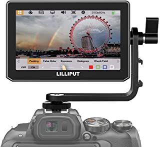 LILLIPUT T5 5 inch Touch Screen Supports HDMI 2.0 4K 60HZ Input 1920x1080 Resolution Camera Field Monitor with 3D LUT HDR