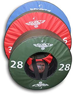 Exxact Sports Tackle Wheel for Football Practice and Tackle Training w/Straps (28, 36, 40 inches)