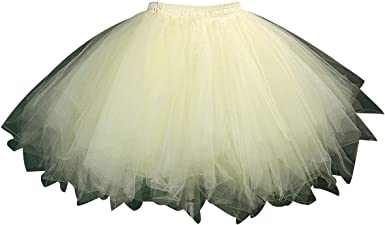 Faldas de Tul Cortas Falda Tutu Mujer Falda Tul Niña Corta Disfraz Fiesta Tutú para Bodas Disfraces con Tutu Ballet Volantes Adulto Enaguas para ...