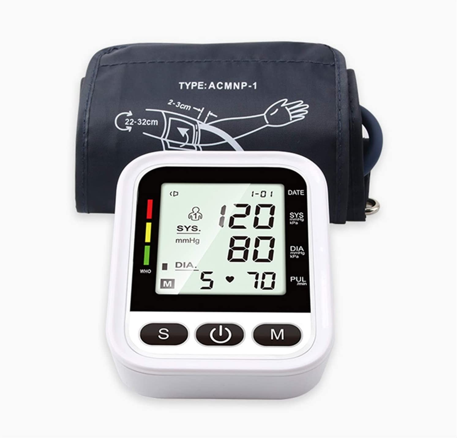 Medical 5 ☆ very popular Supplies and Equipment Upper Pressure Digital Max 69% OFF Blood Arm