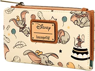 Loungefly x Disney Dumbo Vintage Print Top-Zip Wallet