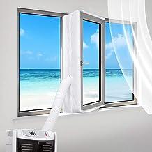 Sinwind Raamafdichting voor mobiele airconditioners, airconditioning, wasdrogers en afvoerluchtdroger, geschikt voor elke ...