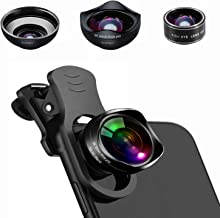 Universal Phone Camera Lens, 5K HD 3 in 1 Clip On Phone...