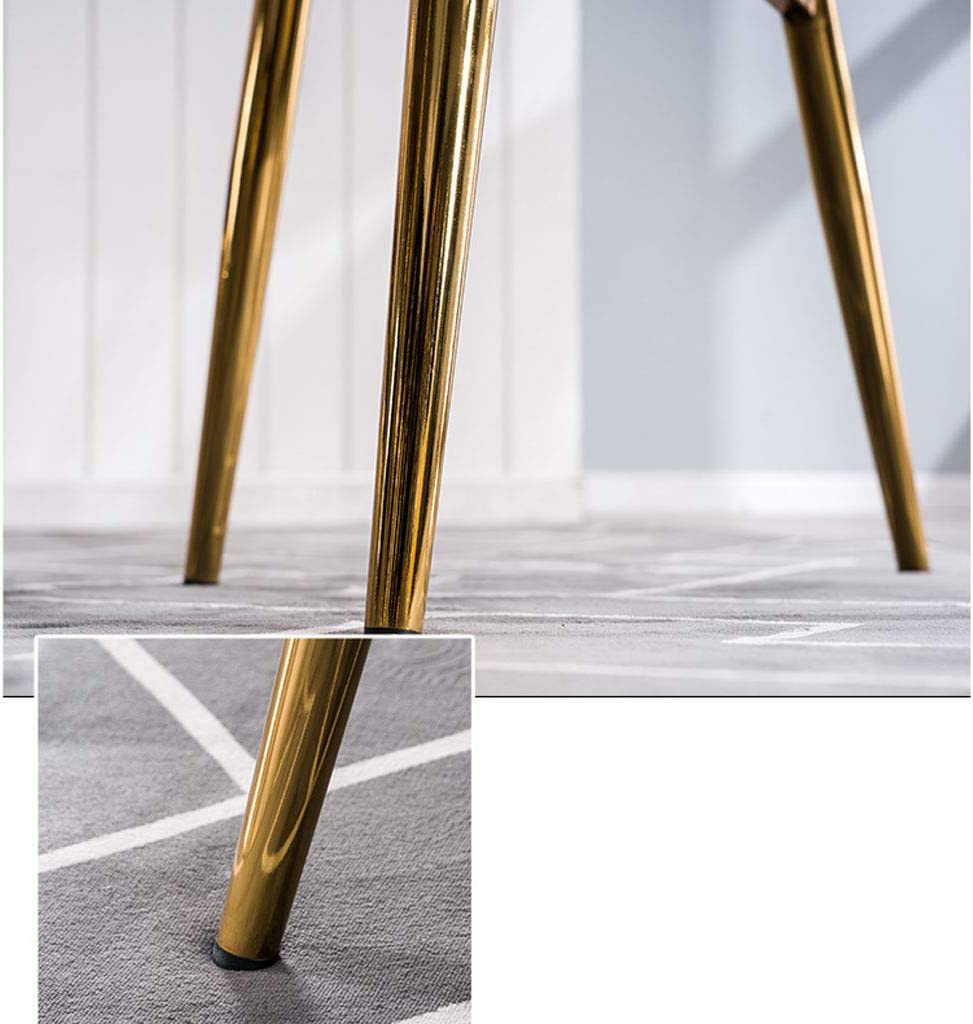 Chaise de salle à manger SLL moderne minimaliste, chaise de café, chaise de maquillage, chaise de chambre à coucher moderne (couleur : B) B