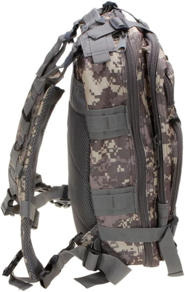 Backpack Army Molle Bug Out Bag Backpacks Small Rucksack for Outdoor Hiking Camping Trekking Hunting