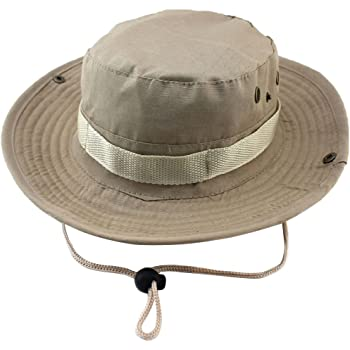 escursionismo viaggio campeggio leggero e comodo Cappelli alla con Protezione UV per pescatora Cappello da sole in cotone con la tesa larga il giusto traspirante e di facile regolazione