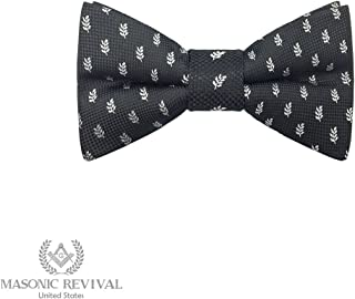 The Acacia Bow Tie by Masonic Revival (Standard Self-Tied)
