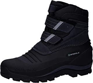 Spirale Velcro Boots Black with Velcro Fastener