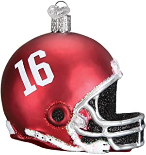 Old World Christmas 60117 Ornament, Alabama Helmet
