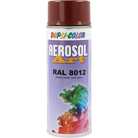 Dupli Color 733116 Aerosol Art Ral 8012 Glänzend 400 Ml Baumarkt