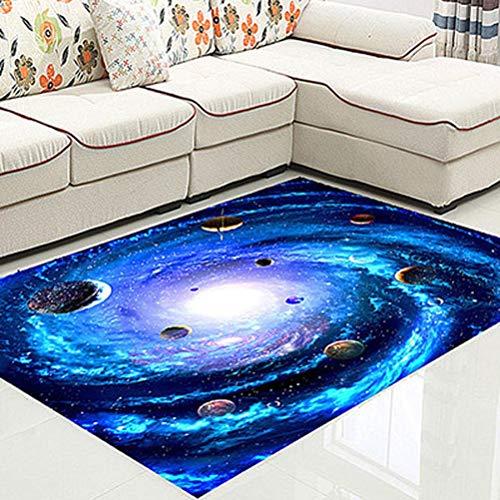3D Kreative Fußmatte Pflanze Teppich Druck Flur Teppiche Schlafzimmer Wohnzimmer Tee Tischdecken Küche Bad rutschfeste Matten 11.11 (Color : A, Size : 140x200cm)