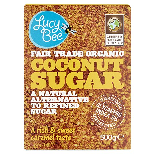Lucy Bee Fair Trade Organic Coconut Sugar 500g