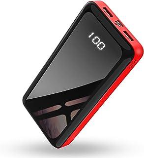 【2020最新版】Bextooモバイルバッテリー 30000mAh 【大容量】スマホ 携帯充電器 急速充電 LCD残量表示 Type-C/Micro USB 2つ入力ポート2つ出力ポート(2.1A+2.1A) 持ち運び便利PSE認証済iPhone/iPad/Android対応
