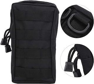 NCONCO Nylon camuflaje tácticas servicio colgante cremallera cintura bolsa teléfono móvil bolsa para deportes al aire libre