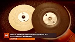Sungold Abrasives 16913 Aluminum Oxide Fibre Discs Assorted Grits 21 Pack 4-1//2 x 7//8 Centerhole 4-1//2 x 7//8 Centerhole