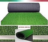 Un tappeto erboso dal colore verde brillante resistente alle intemperie