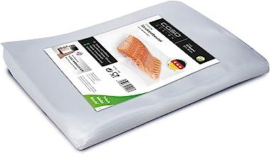 CASO Getextureerde zakken 20 x 30 cm / 50 zakken, voor alle vacuümverpakkers & folie-lasapparaten, BPA-vrij, sterk & scheu...