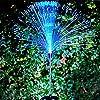 OSALADI 2 Pcs Solar Color Changing Fiber Optic Light, Fiber Optic Garden Light, 95CM Outdoor Ground Light Novelty Lawn Light for Christmas Garden Courtyard #2