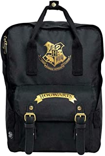 Mochila Hogwarts Black 30 x 35 cm. Harry Potter. Premium