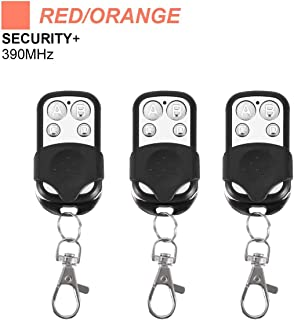 Garage Door Openers Replacement Remote 3 Pack for LiftMaster 970LM 971LM 972LM 973LM - Chamberlain 953CB - Craftsman 139.53681 Remote - Compatible with Red/Orange Learn Button 390MHz