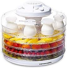 Machine de conservation des aliments, Déshydrateur d'aliments et machine à yogourt, plateau à 5 couches Mini déshydrateur ...