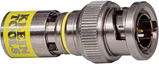 Klein Tools VDV813-613 Universal F Compression Connectors With Universal Sleeve Technology, 35-Pack
