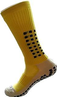 PreSox, calze sportive unisex con pallini in gomma per una maggiore aderenza, perfette per calcio, baseball e football, co...