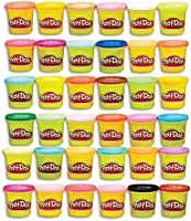 Play-Doh 36 Pack Case Of Colors - 36 X 85G Tubs - Assorted Colours Of Non-Toxic Dough - Modeling Compound - Sensory and...