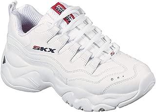 Skechers Women's D Lites 3-0 Grand Venture Fashion Sneakers White