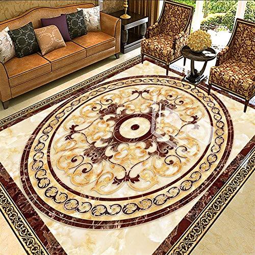 GRAN Custom STATO 3D de alta temperatura de mármol ardiente ambiente hotel baldosas de suelo Parquet Papier Paint 400x280cm