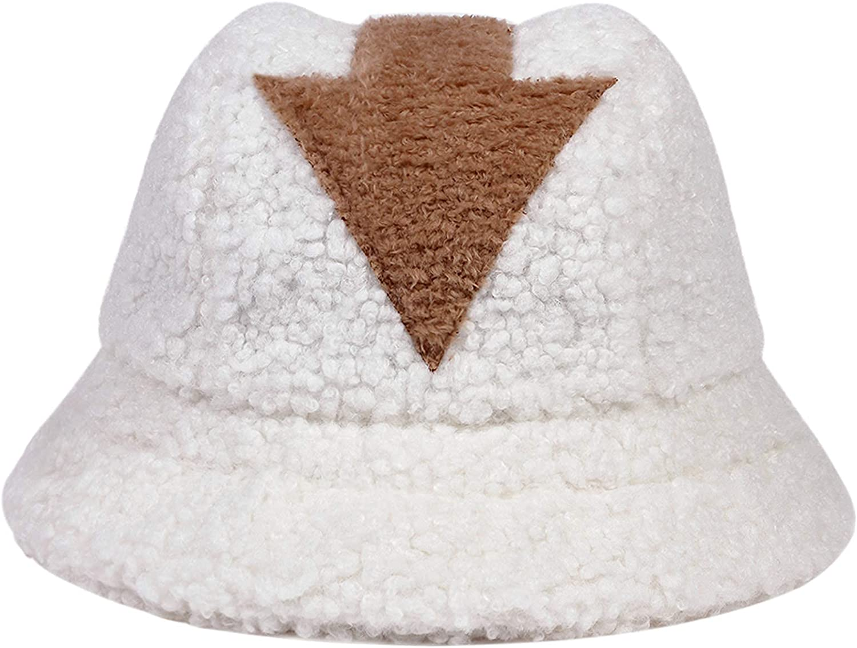 Yvmurain Winter Appa Bucket Hats for Men Women Arrow Cap Warm Soft Comfortable Cap Fisherman Hat