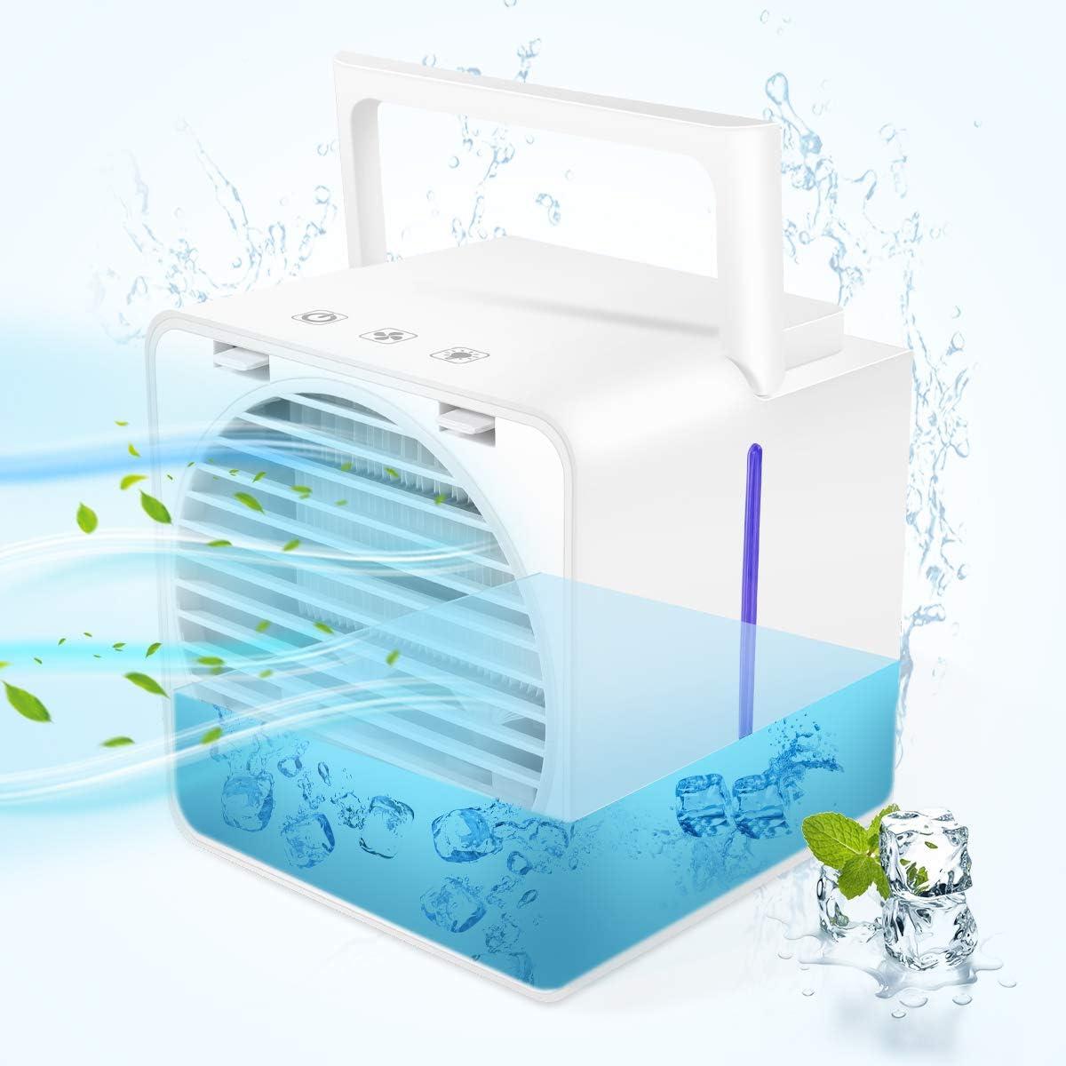 Mini 5☆好評 Air Conditioner Portable Cooler 商い Air-Co Upgrade Model