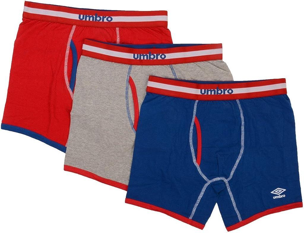 Umbro 3 Pack Premium National Team Boxers - Medium (America) UM5057BB-3