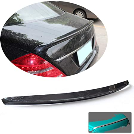 Rear Spoiler Wing Carbon Fiber For Benz W222 S450 S560 S600 S63 S65 AMG 14-19
