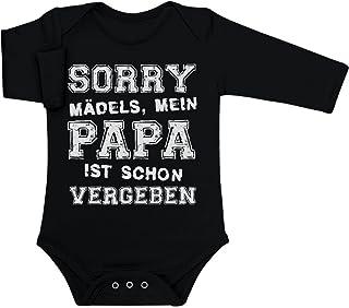 Shirtgeil Sorry Mädels Mein Papa Ist Schon Vergeben Witziger Spruch Baby Langarm Body
