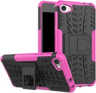 Alcatel A5 LED Case, Ikwcase Heavy Duty Armor Tough Hybrid Shockproof Dual Layer Kickstand Protective Case Cover for Alcat...