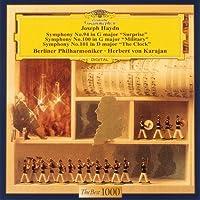 Herbert Von Karajan / Berlin Philharmonic Orchestra - Haydn: Symphonies No.94 'Surprise'. No.100 'Military'.No.101 'The Clock' [Japan LTD CD] UCCG-5087 by Herbert Von Karajan / Berlin Philharmonic Orchestra