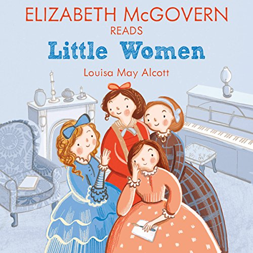 Elizabeth McGovern reads Little Women audiobook cover art
