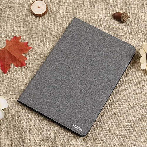 Funda para Lenovo Tab 2 A7-10 A7-10F A7-20 A7-20F Tab2 A7 20 10 Funda para Tableta Soporte Flip Funda de Cuero de PU Funda Funda-Gris