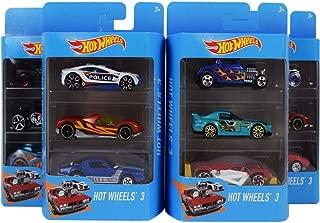 Hot Wheels 3 Cars Set, Designs may vary